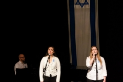 Singing in Yom HaZikaron Ceremony, Tel Aviv, 2015